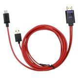 HDMI 접합기 마이크로 USB HDMI 케이블에 4k HDTV Mhl