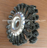 4inch Twist Know Wheel Grinding Brush (YY-590)