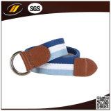 Heißer Verkauf kundenspezifischer Farben-Segeltuch-Taillen-Riemen mit doppelter Klipp-Faltenbildung