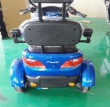 """trotinette"" elétrico da potência verde, motocicleta do triciclo elétrica"