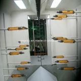 Auto linha de revestimento com sistema Cor-Em mudança rápido da cabine