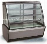 Refrigerador comercial do bolo do baixo ruído com Ce