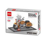 Brinquedo do modelo da motocicleta do bloco de apartamentos DIY (H6876040)