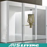 現代白は引き出すワードローブの戸棚(AIS-W020)のメラミン歩行を