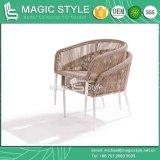 Proyecto de mimbre especial del hotel de la mesa de centro de los muebles de la rota determinada del club del sistema de café que teje (estilo mágico)