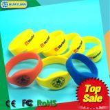 Bracelet classique d'IDENTIFICATION RF de bracelet de la piscine de forme physique de gymnastique MIFARE 1K NFC