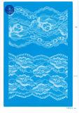 Merletto non elastico per vestiti/indumento/pattini/sacchetto/caso F291 (larghezza: 1.4CMM a 24cm)