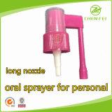 24 410 de boquilla larga de plástico bomba del pulverizador oral para uso médico