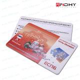 IDENTIFICATION RF Smart Card sans contact de PVC mince de qualité