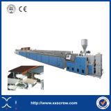 WPC/PVC/PE Profil-Strangpresßling-Zeile/hölzerner Plastikprofil-Extruder