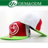 Flacher Rand kundenspezifische Baseball-Hut-Hüte