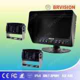 Sistema automotriz novo do monitor de 7 polegadas com a câmera de Atandard Ahd