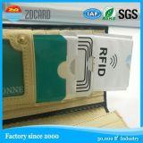 PS Mejor venta Frid manga / soporte de la manga del bloque tarjeta de identificación RFID