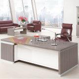L Tabella di legno dell'ufficio esecutivo del pino d'argento di figura dell'alta qualità (HY-NNH-JT04)