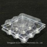 Vacío plástico de alta velocidad automático de las bandejas del huevo que forma la máquina