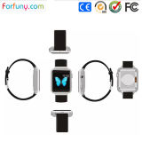 Androide 4.4.2 Dual Core 1.2GHz Smart Pedometer Wristwatch