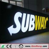 Het Vacuüm dat van uitstekende kwaliteit het In reliëf maken LEIDENE van de Metro van de Hars Tekens vormt
