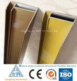 Perfis de alumínio industrial para conjuntos fixos de painéis solares