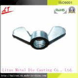 Винты и гайки CNC алюминиевого сплава оборудования кожаный