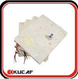 Cuaderno de papel reciclado de la agenda del cuaderno con la venda de elástico