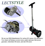 Healthcareのための24V 250W Automatic Brake Power Wheel Chair Motor