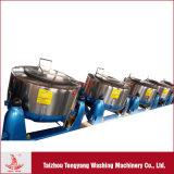 Sécheur centrifuge industriel avec tambour et couvercle en acier inoxydable