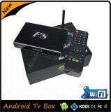 쿼드 코어를 가진 인조 인간 WiFi 지능적인 텔레비젼 상자 IPTV 이탈리아 채널 통신로 및 UK IPTV Apk