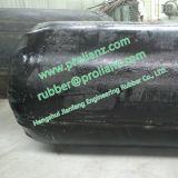 (하수 오물 유출물에 사용되는) 에어백을 폐쇄하는 팽창식 관 물