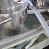 Film ou éclailles écrasé réutilisant la ligne de pelletisation