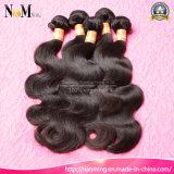 do cabelo cambojano da onda do corpo do cabelo humano de Remy do Virgin da classe 8A pacotes ondulados não processados 3