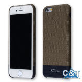 Uiterst dun SOFT Leather Matte Cover voor iPhone 6 4.7 ""