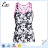 Wholesaleのための昇華Stripped Women Vest Sportswear
