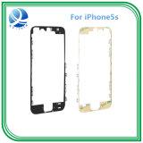 iPhone 5s 본래 LCD 날의 사면 프레임 전면 홈 지원 부류 3m 접착성 까만 백색을%s