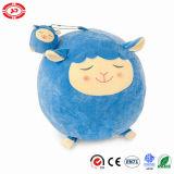Vendita calda Keychain Pedent delle pecore del giocattolo rotondo sveglio blu della peluche