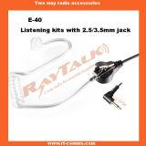 Il tubo acustico ascolta soltanto cuffie (E-40)