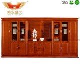 Biblioteca de madeira da mobília de escritório, ficheiro