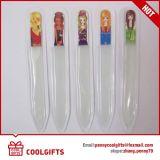美しいカスタマイズされたコーティングプリントが付いている卸し売り多彩なガラス爪やすり