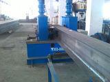 Hのビーム生産ライン(1台の機械に付き3台をアセンブリ溶接まっすぐにする)
