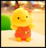 L'animal bourré de peluche de jouets adapté aux besoins du client par logo badine le jouet