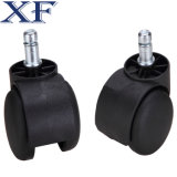 1 polegada Furniture Nylon Stem Caster de 1/2 com Brake