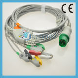 Spacelabs 5 - Lead ECG Cable con hilos conductores