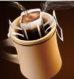 De automatische Hangende Machine van de Verpakking van de Zak van de Koffie van de Druppel van het Type van Oor