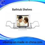 Caldo-Vendita del carrello d'estensione della vasca da bagno, mensola della cremagliera della vasca da bagno
