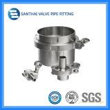 Union d'ajustage de précision de tube d'acier inoxydable DIN SMS 304/316L