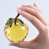 60mm Crystal Apple Paperweight для Table Decoration
