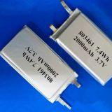 Li-Ionc$li-polymer-plastik 3.7V 2000mAh nachladbare Lithium-Polymer-Plastik Batterie 803461