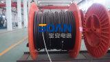 N2xs2y, cabo distribuidor de corrente, 12/20 de quilovolt, 1/C, Cu/XLPE/Cws/Cts/PE (HD 620 10C/VDE 0276-620)