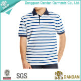 Stripes Business Polo Shirt людей с Company Logo