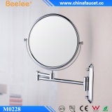 3X vergrößern Messing bilden gefalteten Badezimmer-Spiegel