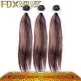一等級7AはPerivianのバージンの毛100%Humanの毛を卸し売りする
